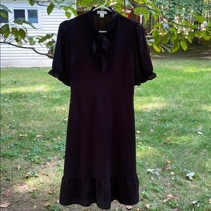 Monteau black dress. Large. Never worn